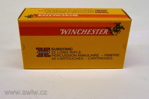 .22 Long Rifle Winchester Subsonic