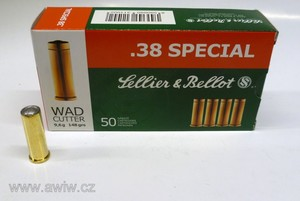 .38 Special WAD CUTTER Sellier&Bellot
