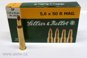 5,6x50R Magnum Sellier&Bellot