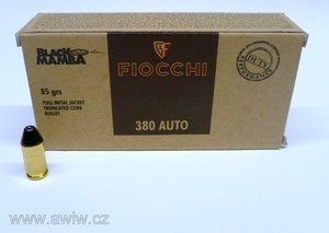 9 mm Browning Fiocchi Black Mamba