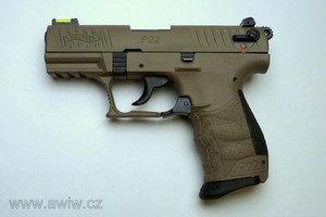 Walther P22QD FDE