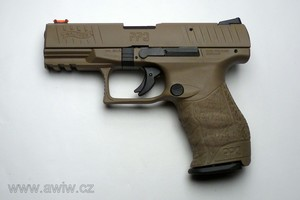 "Walther PPQ M2 4"" FDE .22 LR"