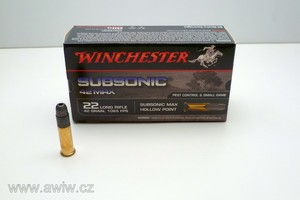 .22 Long Rifle Winchester Subsonic 42 Max